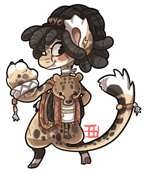 #40 Bagbean - Cheetah by griffsnuff