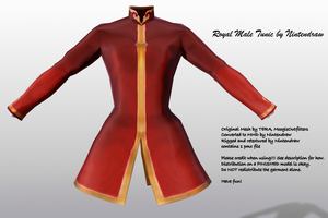 [MMD] Male Royal Tunic [DL] by Nintendraw