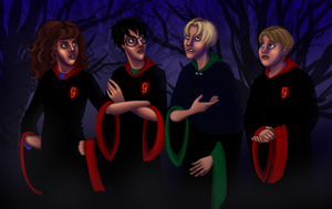 HP Art Project - WIP5 by Rotae