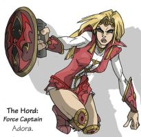 Force Captain Adora by punkrockguy