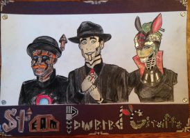 Steam Powered Giraffe by Faceless-Tsundere