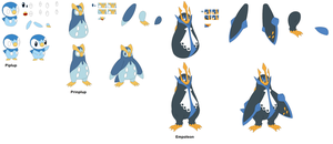 Piplup [Character Builder] by yoshiLover1000