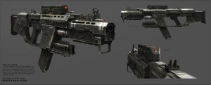 Scica c2040 Rifle by NRAG