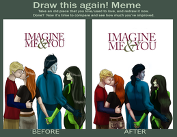 Draw This Again: KiGo - Imagine Me And You by Aira90