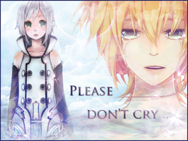 Len Kagamine Piko Utatane : Please don't cry by Lil-Luna