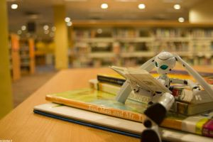 Drossel at the Library by Kodomut