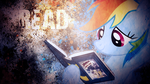 A message from Rainbow Dash by SandwichDelta