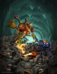 TYCHUS vs GAZLOWE by georgecatalin93