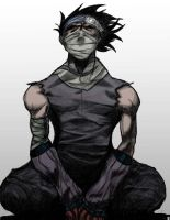Zabuza color by zhihanbling