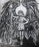Four Winged Angel 1 by VoiceInForestShadow