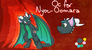 Oc Design Commission for Nyoc-Oomara by KASAnimation