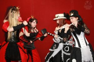 Cards' Queens 4 by MiracoliCosplay