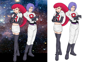 Team Rocket by Catchmewithyourlips