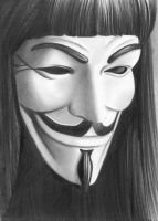 V for Vendetta by Silens-Somnium