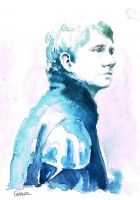 A Study in Watercolor - John Watson by Gohush