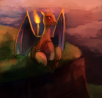 Charizard by Cherkivi