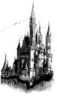 Disney Castle by todds201