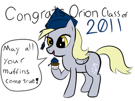 Congrats Orion class of 2011 by TanMansManTan