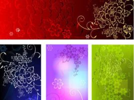 Relief-rich-background-pattern-vector by vectorbackgrounds