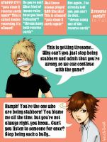 UNO time with Gazette p1 by Hachiko8