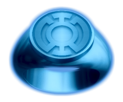 Blue Lantern Ring by KalEl7