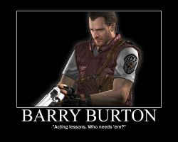 Everybody loves Barry Burton by RECaptain