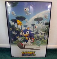 Sonic Colors Poster 1 by Fuzon-S