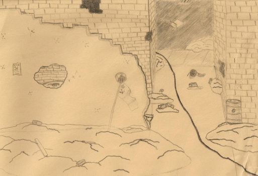 Stalingrad - Quick Sketch by RuskiTheCommie