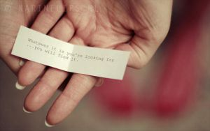 Your own fortune cookie by karinelips