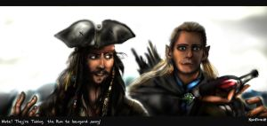 They re Taking  the Rum to Isengard by KomyFlyinc@ by KomyFly