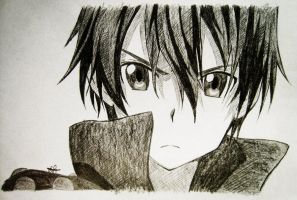Kirito   Sword Art Online by fire854