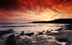 Kimmeridge Bay III by Dave-Ellis