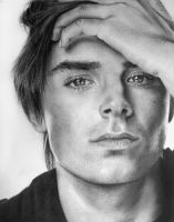 zac efron by E777Y