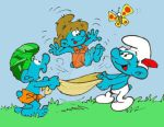 Happy Smurfy Earth Day by acla13