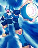 MegamanX by ManiacPaint