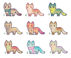 [ SOLD ] Tinyfeets Adopts 12 by Sergle