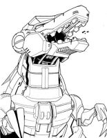 Shattered Glass Grimlock, Wot? by MSipher
