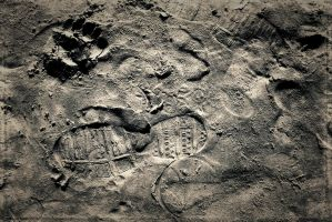 Footprints In The Sand.4 by Bobbyus