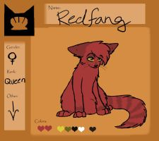 Redfang Ref: Queen of Shellclan by BeadFeather