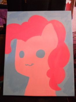 Pinkie Pie Painting by Meireich
