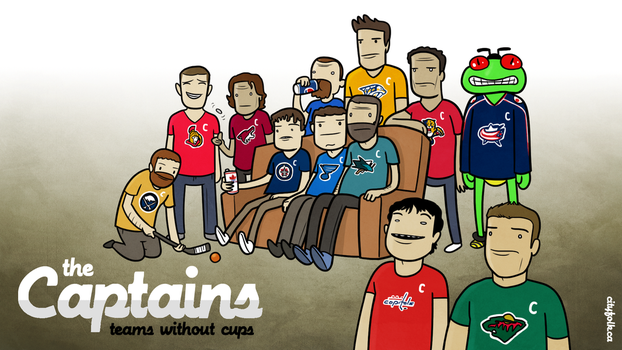 The Captains (without cups) by cityfolkwebcomic