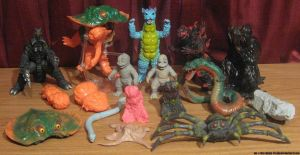 Y-MSF Godzilla Collection by Mr-X-The-Kaiju-Freak