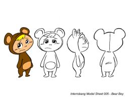 Bear Boy Model Sheet by kevinbolk