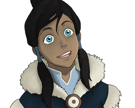 The Legend Of Korra: Korra portrait by DeJakob