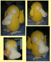 Crochet Psyduck by Mr-Nova