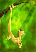 Hanging dragon by Stumppa