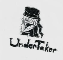 Ink Undertaker Chibi by Arorea