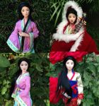 The Four Great Chinese Beauties by dollover