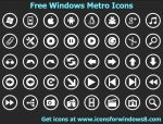 Windows Metro Icons by Ikonod