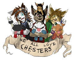chesters are love chesters are life by HermiTheHusky